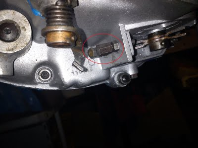 Vespa Motor Reassembly Cable Adjustment